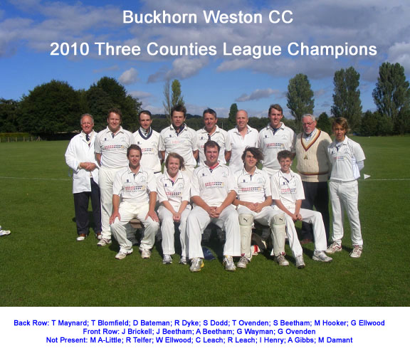 Three Counties Champions 2010